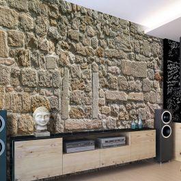 Φωτοταπετσαρία - Wall From Stones