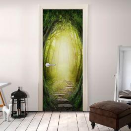 Φωτοταπετσαρία πόρτας - The Forest of Fantasy