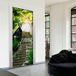 Φωτοταπετσαρία πόρτας - Stony Stairs