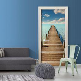 Φωτοταπετσαρία πόρτας - Turquoise Harbour