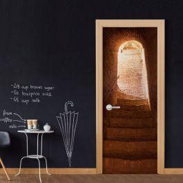 Φωτοταπετσαρία πόρτας - Secret Stairs