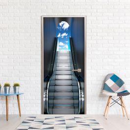 Φωτοταπετσαρία πόρτας -  Escalator