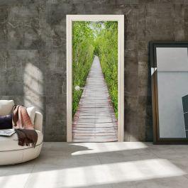 Φωτοταπετσαρία πόρτας - The Path of Nature