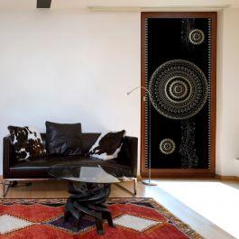 Φωτοταπετσαρία πόρτας - Photo wallpaper - Pattern – circles I