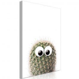 Πίνακας - Cactus With Eyes (1 Part) Vertical