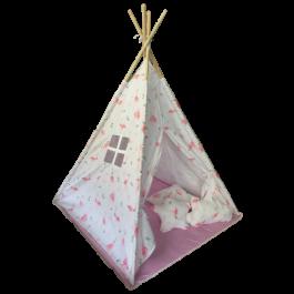 Παιδική σκηνή Baby Adventure Teepee Flamingo