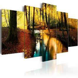 Πίνακας - Autumn silence: forest
