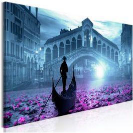 Πίνακας - Magic Venice (1 Part) Narrow Blue