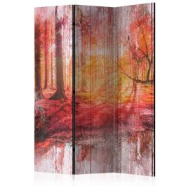 Διαχωριστικό με 3 τμήματα - Autumnal Forest [Room Dividers]
