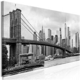 Πίνακας - Road to Manhattan (1 Part) Narrow Black and White