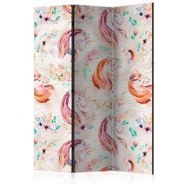Διαχωριστικό με 3 τμήματα - Pastel Unicorns [Room Dividers]