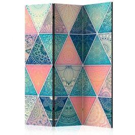 Διαχωριστικό με 3 τμήματα - Oriental Triangles [Room Dividers]