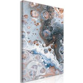 Πίνακας - Blue Sienna Marble (1 Part) Vertical