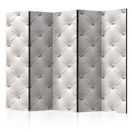 Διαχωριστικό με 5 τμήματα - White Elegance II [Room Dividers]