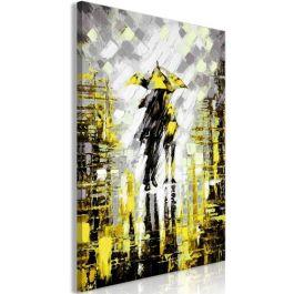 Πίνακας - Lovers in Colour (1 Part) Vertical Yellow