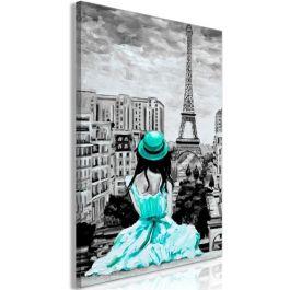 Πίνακας - Paris Colour (1 Part) Vertical Green