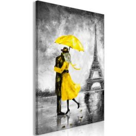 Πίνακας - Paris Fog (1 Part) Vertical Yellow