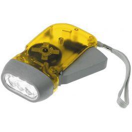 Φακός 2 LED με δυναμό