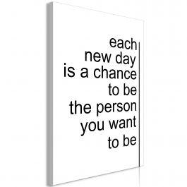 Πίνακας - Inspirational Quotes (1 Part) Vertical
