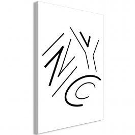 Πίνακας - NYC (1 Part) Vertical
