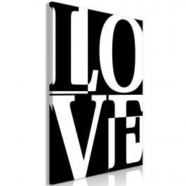 Πίνακας - Black and White Love (1 Part) Vertical