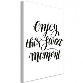 Πίνακας - Enjoy This Sweet Moment (1 Part) Vertical