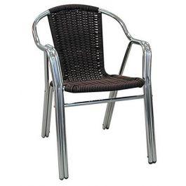 Πολυθρόνα πλεκτή Wicker