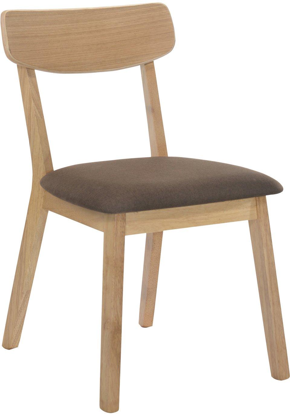 Καρέκλα Valcan-Φυσικό – Καφέ