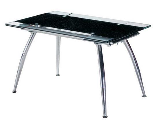 Τραπέζι Sotris 125-Μαύρο