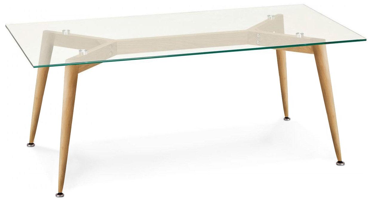 Τραπέζι Fiorino Glass