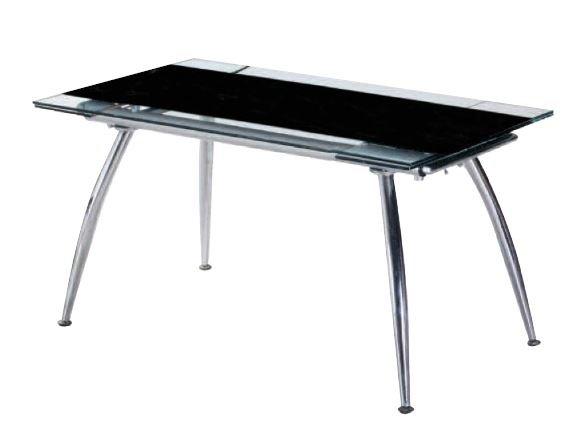 Τραπέζι Sotris Gigas-Μαύρο