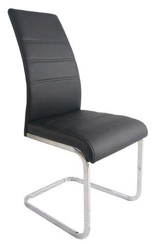 Καρέκλα Giorgia-Μαύρο