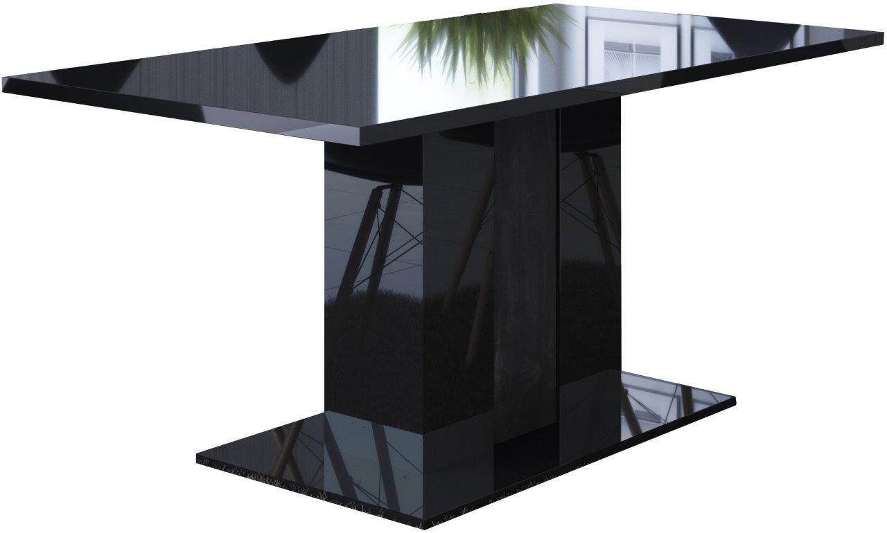 Τραπέζι Galina-Μαύρο