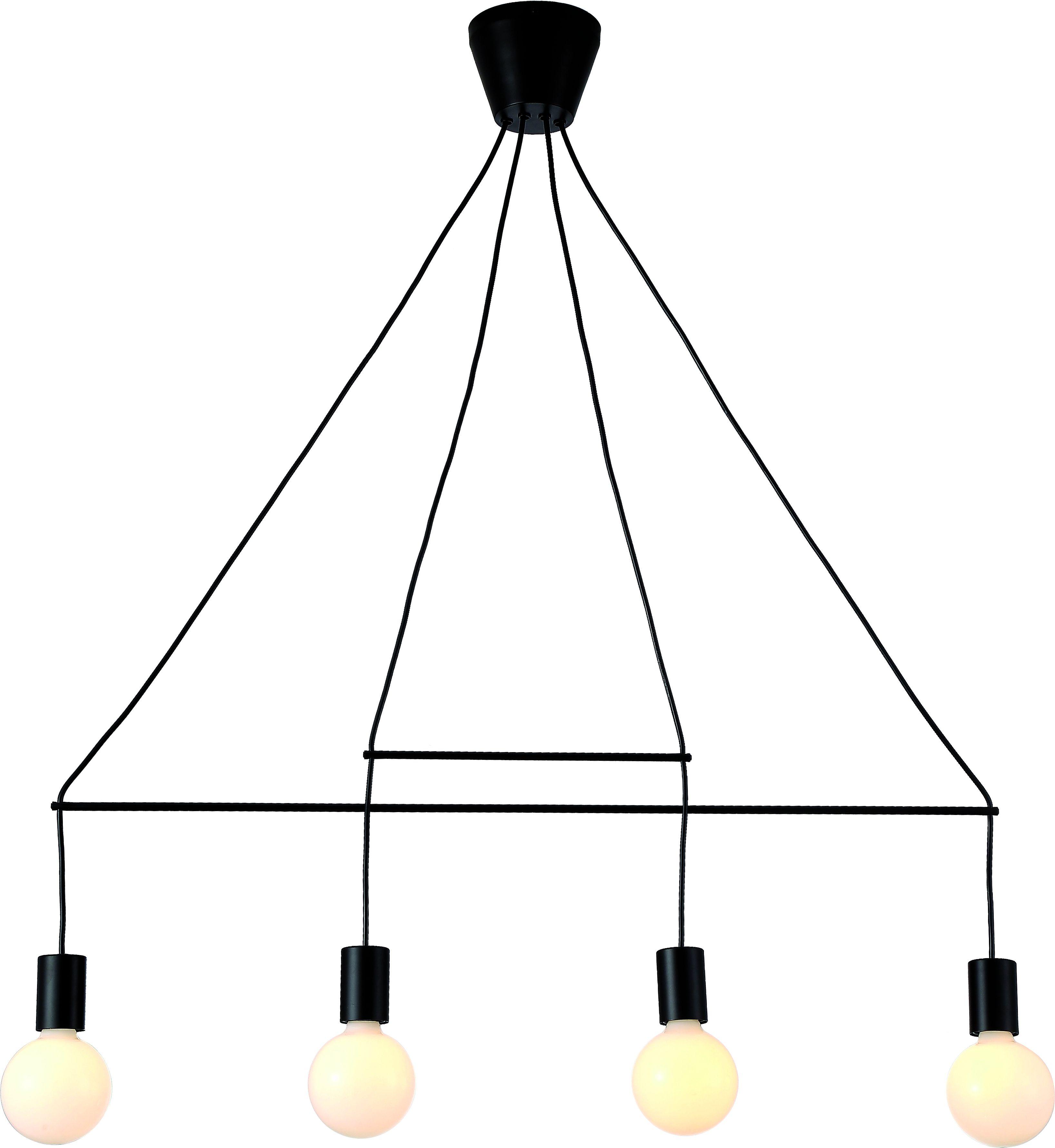 Φωτιστικό οροφής Viokef Allen 4φωτο