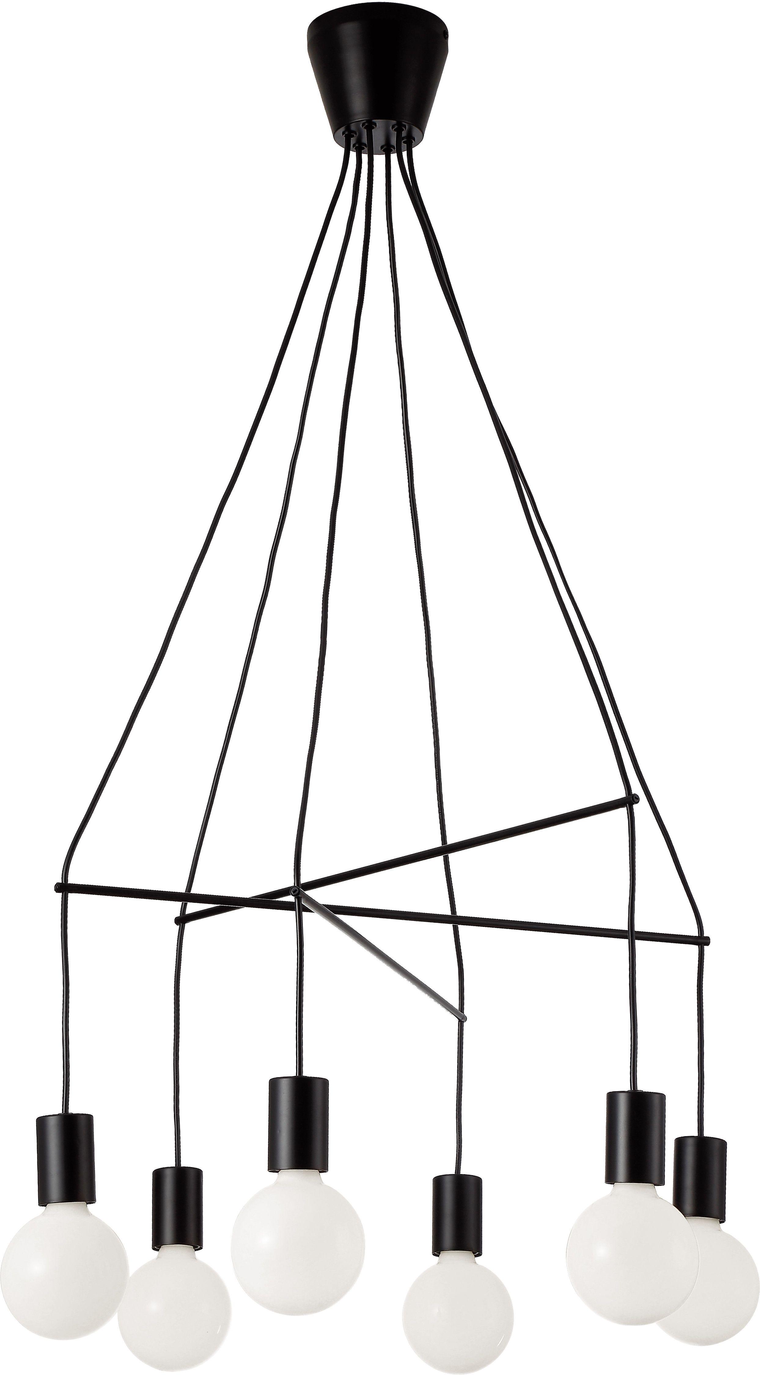 Φωτιστικό οροφής Viokef Gloria 6φωτο