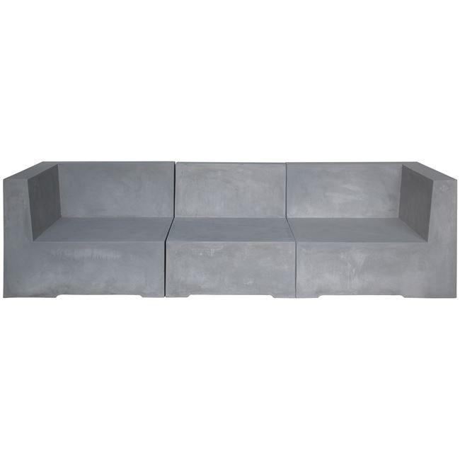 Καναπές Cementcon τριθέσιος