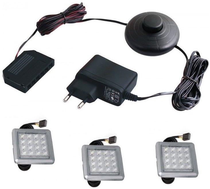 Φωτισμός LED – 3τμχ