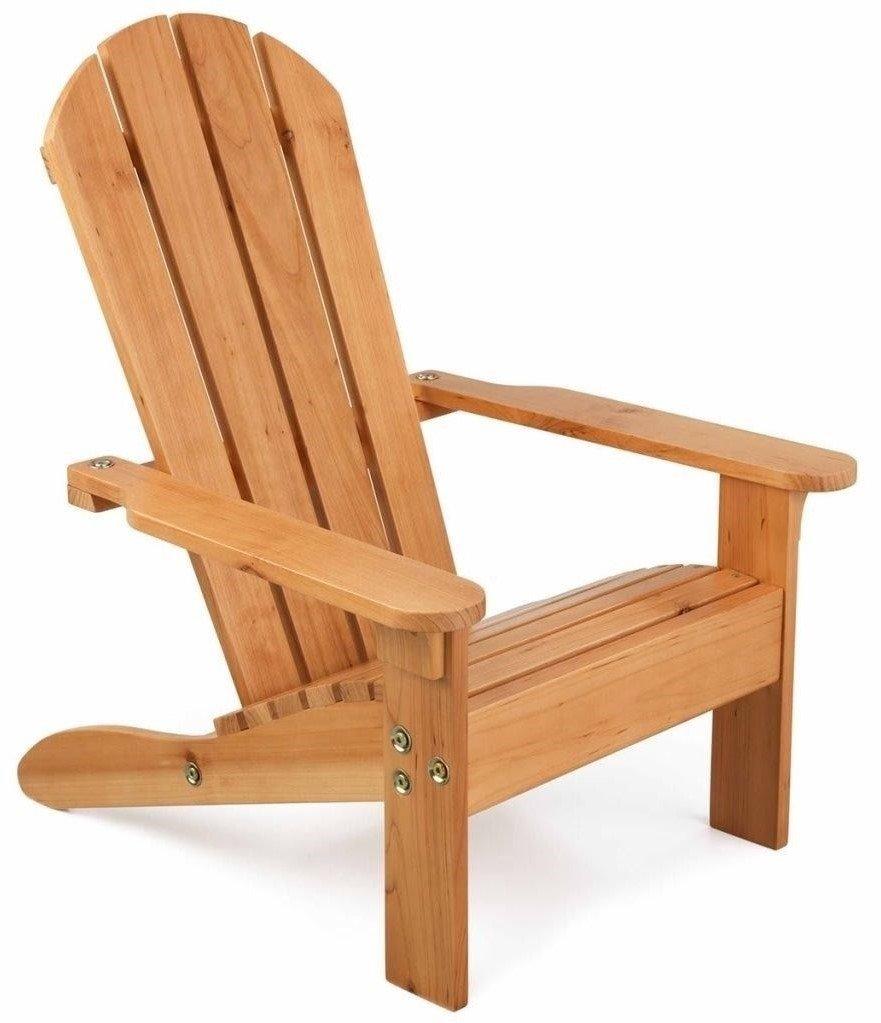 Καρέκλα Kidkraft Adirondack Chair Honey