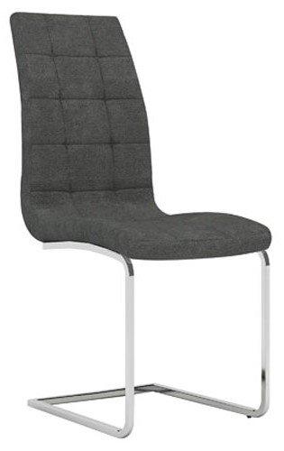 Καρέκλα Semina Fabric-Γκρι