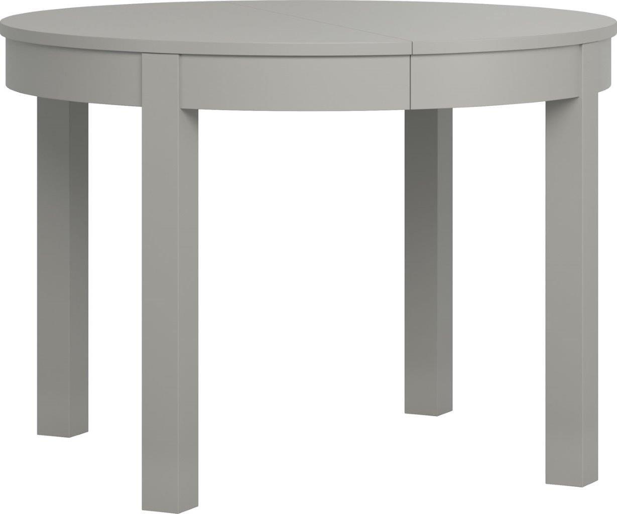 Τραπέζι Simple Round επεκτεινόμενο-Γκρι
