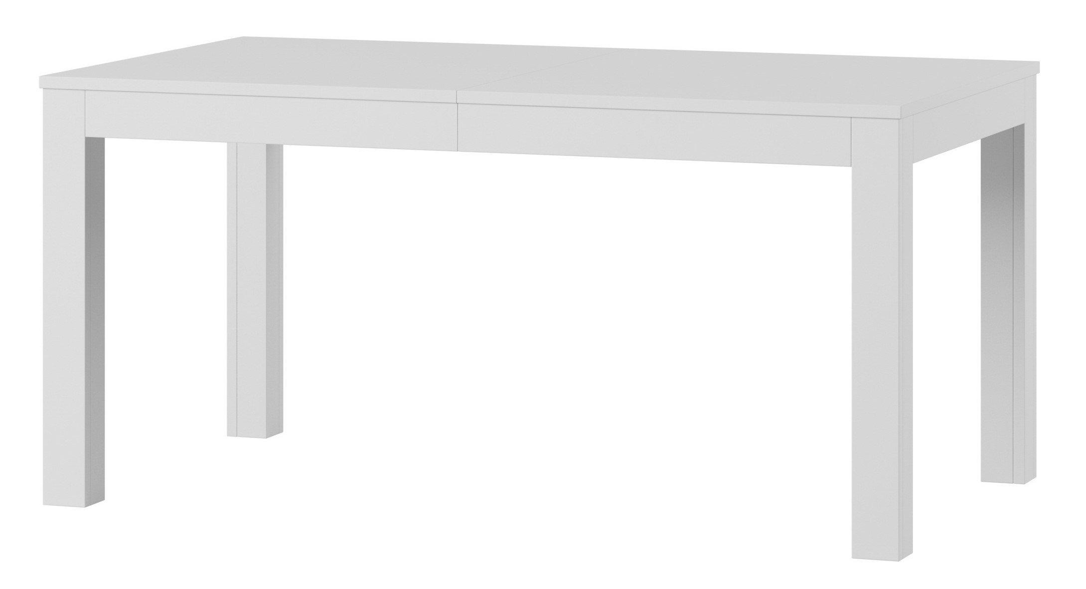 Τραπέζι Walnut επεκτεινόμενο-Λευκό