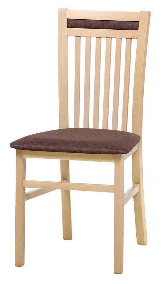 Καρέκλα Wallace-Φυσικό – Καφέ
