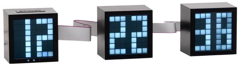 Ρολόι - ξυπνητήρι Block (Μήκος: 24 Βάθος: 6 Ύψος: 8)