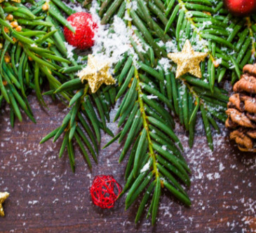 6 εκπληκτικές ιδέες για Χριστουγενιάτικη διακόσμηση
